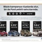 Ford'tan Yeni Kampanya!