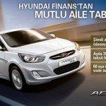 Ayda 399 TL'ye Hyundai Accent Blue!