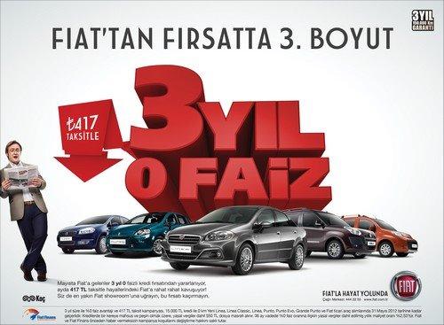 417 TL Taksitle Fiat