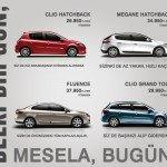 Renault Modelleri, 20 Ay Vadeli + Şimdi Al 2013'te Öde