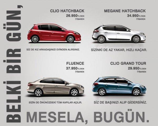 Renault Eylül 2012 Kampanya