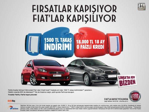 Fiat Eylül 2012 Kampanya
