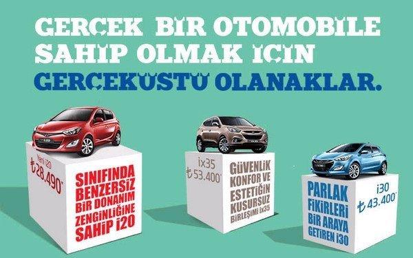 Hyundai Eylül 2012 Kampanya