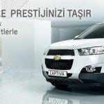 Yeni Chevrolet Captiva 500 TL'den Başlayan Taksitlerle