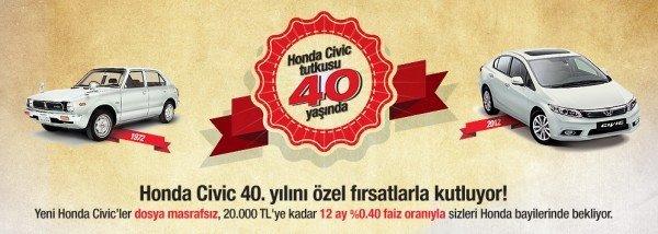 Honda Civic 40. Yıl