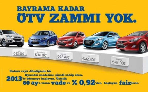 Hyundai Ekim 2012 Kampanya