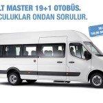 Renault Master 36 Ay 36.000 TL 0,95 Faiz
