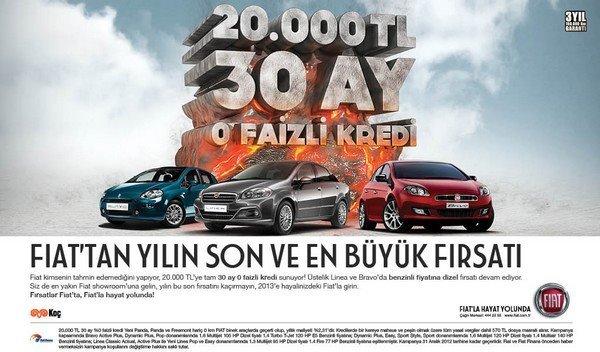 Aralık Fiat Binek Kampanyası