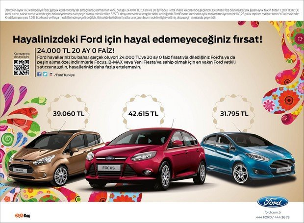 Ford Binek Arac Kampanyası