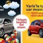 Fırsatı Kaçırmayın, Tatile Toyota'yla Çıkın!