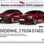 Bayram Mutluluğunu Fiat'la Yaşayın!