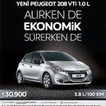 Peugeot 208 1.0 L VTi Kampanyası