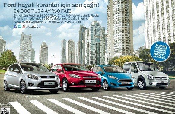 Ford Binek Arac Kampanyasi