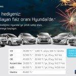 İşte yeni yıl hediyeniz: %0'dan başlayan faiz oranı Hyundai'de