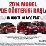 Fiat: 2014 Model Gövde Gösterisi Başladı!