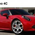Yeni Alfa Romeo 4C