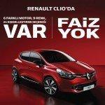 Renault'tan 0 Faiz