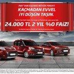 Fiattan Mayıs 2015 Fırsatları: 24.000 TL 2 Yıl 0 Faiz