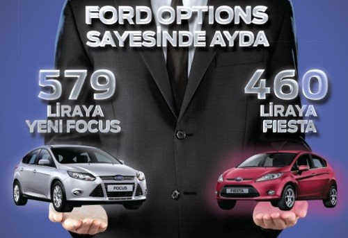 ford options kampanyası