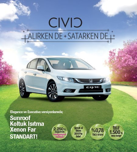 Civic Sedan 2014 kasim dergi format 5 CS5